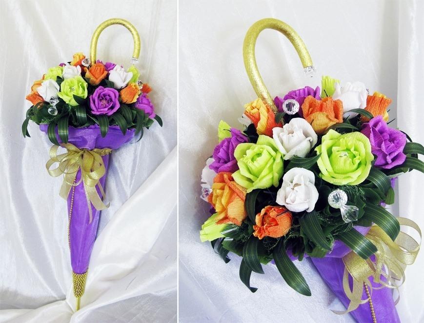 Букеты в зонтиках купить киев, оптом купить цветы