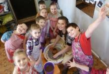 Творческая мастерская лепки из глины и керамики