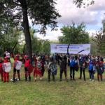 участники турнира на мечах