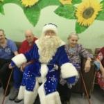 Благотворительная акция - дом престарелых
