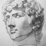 голова - рисунок