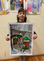 Круглова Анна - победитель конкурса рисунка
