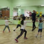 разминка - танцы