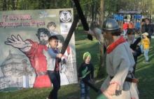 сражения на тренировочных мечах